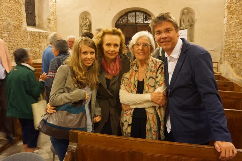 Aliisa, Kaija, Betsy, Eric